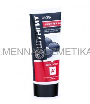"Maska-aktivator za kosu ""Prirodna apoteka"" za rast Šungit + Arginin, 180 ml"